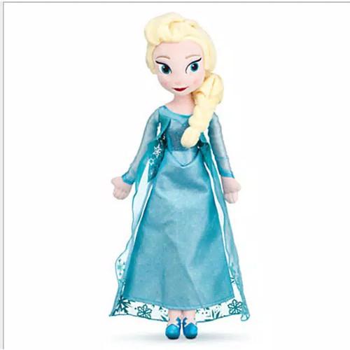 Foto Produk Boneka Plush Disney Frozen Elsa/Anna 50 cm - Mainan bayi - mainan anak - Elsa dari Agista Baby & Kids