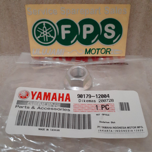 Foto Produk Mur Pulley New NMax / 90179-12004 / NUT (Original YGP) dari FPS Motor