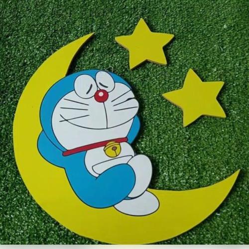 Jual Hiasan Dinding Bahan Kayu Mdf Doraemon Lucu Dibulan Uk35cm Jakarta Pusat Dagun Said Art Tokopedia