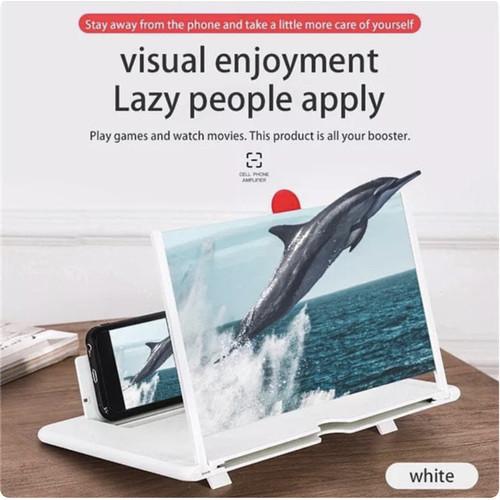 Foto Produk Kaca Pembesar Layar Handphone HP - 10 Inch, Putih dari Origin Aksesoris Hp Official Store
