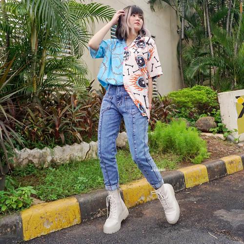 Foto Produk JINISO - HW Boyfriend Jeans 750 - 760 SLAYING BABE dari JINISO.ID