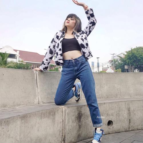 Foto Produk JINISO - HW Boyfriend Jeans 013 - 113 SLAYING BABE dari JINISO.ID