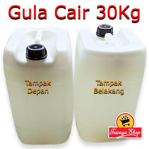 Foto Produk Gula Cair 30Kg - Fructosa HFS 55% - Simple Syrup Khusus Gojek/Grab dari Toseaya Shop