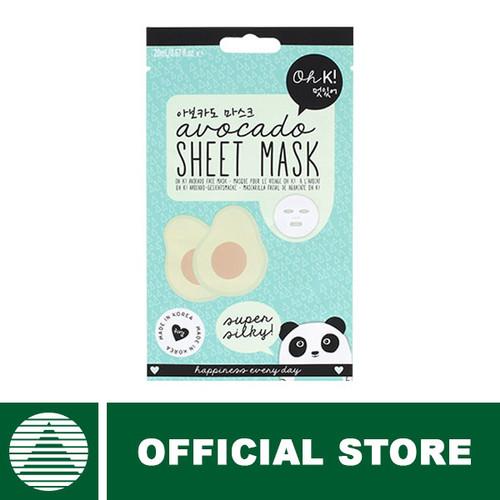 Foto Produk Oh K! Avocado Sheet Mask [1X20ml] dari Natural Nutrindo