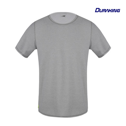 Foto Produk DK Daily Wear T-Shirt Double Side Light Grey - White - M dari Duraking Outdoor&Sports