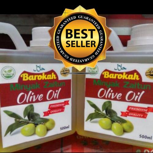 Foto Produk Minyak Zaitun Murni Barokah 500ml dari herbaltokoonline