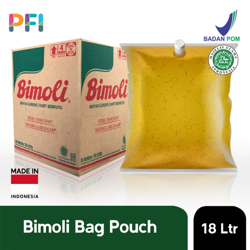 Foto Produk MINYAK GORENG BIMOLI 18L BAG POUCH dari Premium Food Importer