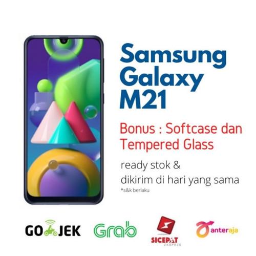 Foto Produk Samsung Galaxy M21 4/64 RAM 4GB ROM 64GB Garansi Resmi SEIN - Biru dari NJ ST0RE