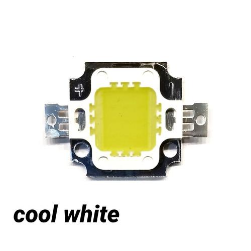 Foto Produk HPL 10 Watt W 10W 10Watt High Power LED Putih Cool White Bright - cool white dari mirorim
