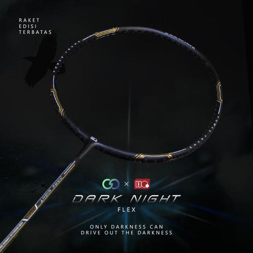 Foto Produk Hi-Qua Special Edition The Dark Night Raket Badminton Up to 30Lbs - Gold dari Hi-Qua Original Shop