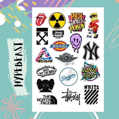 Jual Sticker Aesthetic Tumblr Hypebeast Case Hp Laptop S Kota Bekasi Lesliegoods Tokopedia