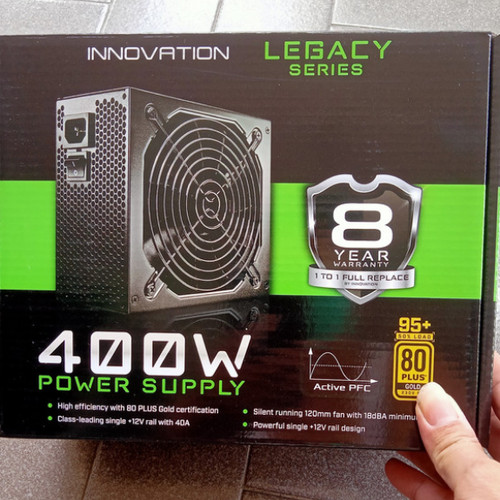 Foto Produk Power supply 400W 80+ Gold Innovation dari Cutty