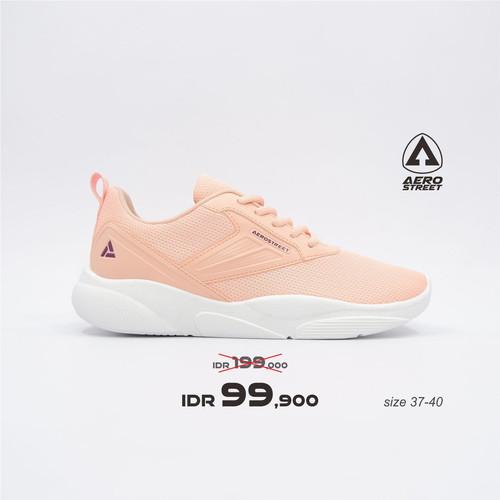 Foto Produk Aerostreet 37-40 Audrey Peach Peach - Sepatu Sneakers Casual Sport - 38 dari Aerostreet