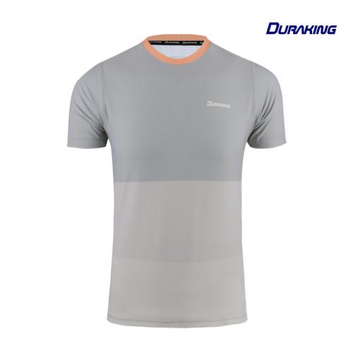 Foto Produk DK Daily Active Wear Tri Colors Shirt Grey - Regular Fit - L dari Duraking Outdoor&Sports