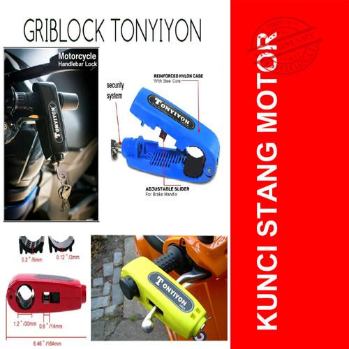 Foto Produk Kunci Gembok Stir Stang Sepeda Motor dari Gold-Mart