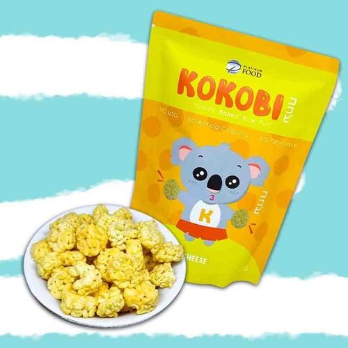 Foto Produk Kokobi Yummy Baked Rice Puff Snack Anak - Cheese dari Yen's Baby & Kid Official Shop