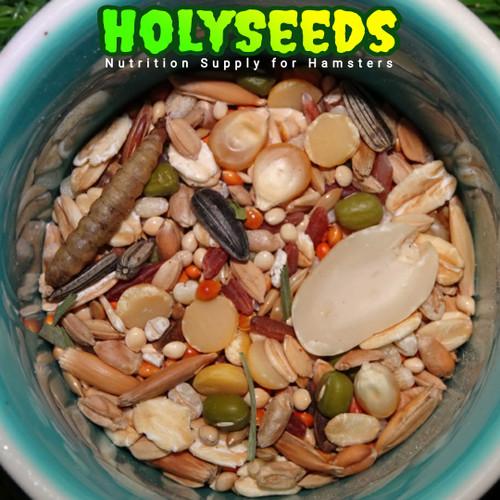 Foto Produk HOLYSEEDS Hamster Food / Makanan Hamster 500 Gram dari Akashams