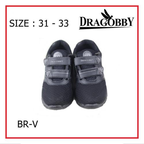 Foto Produk Sepatu Sekolah Anak laki-laki SD size 31-33 -BRV FREE MASKER MEDIS - 31, Hitam dari Purnama Sepatu 03