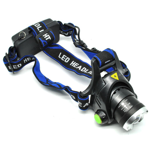 Foto Produk Lampu Kepala High Power Headlamp 1 LED Cree XML-T6 - Hitam dari conngallery
