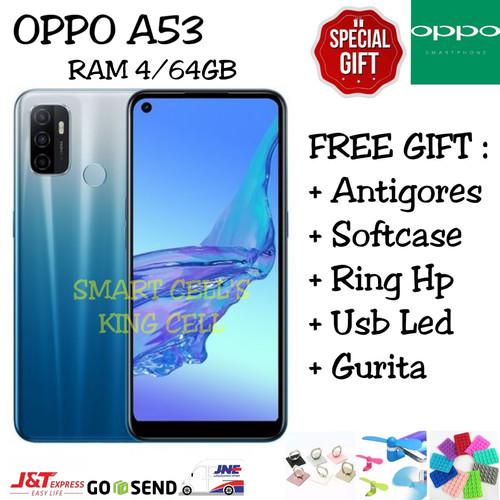 Foto Produk OPPO A53 4/64 GB GARANSI RESMI OPPO INDONESIA - Hitam dari smart cell's