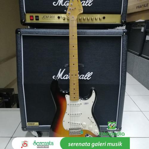 Foto Produk Fender 70s Stratocaster, Maple, Made In Mexico dari Serenata Galeri Musik