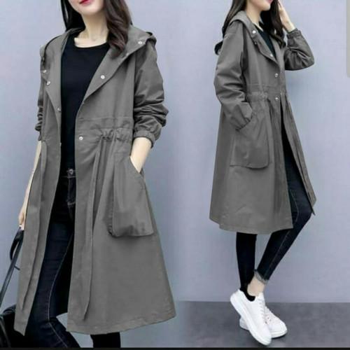 Foto Produk Coat Kyori Hodie Katun Abu dari HER'Z SHOP