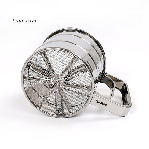 Foto Produk Gelas ayakan / saringan tepung stainless - Silver dari Authenticbags_closet
