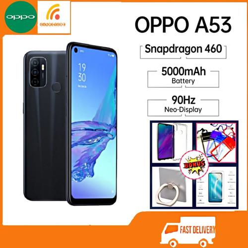 Foto Produk OPPO A53 RAM 4/64GB GARANSI RESMI OPPO INDONESIA - Biru dari OVANST0RE