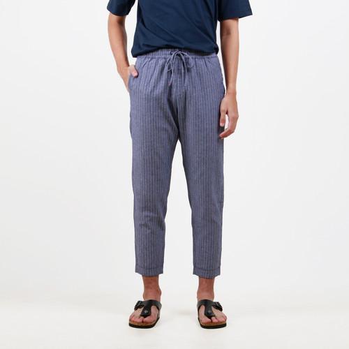 Foto Produk Hubbu Celana Bahan Panjang Pria B02007H Biru - M dari HUBBU OFFICIAL