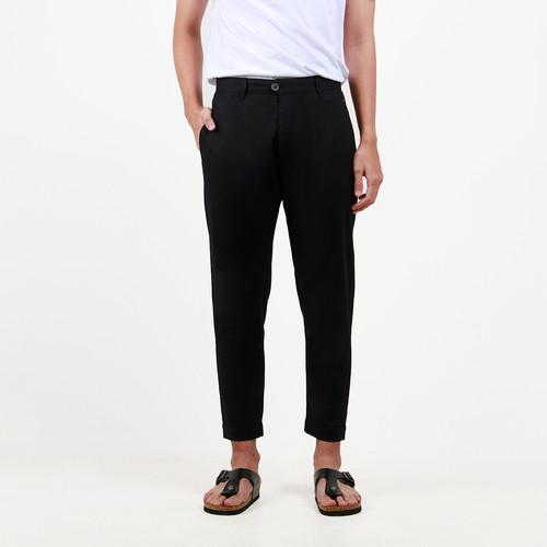 Foto Produk Celana Panjang Bahan Pria B01206H Hitam - 30 dari HUBBU OFFICIAL