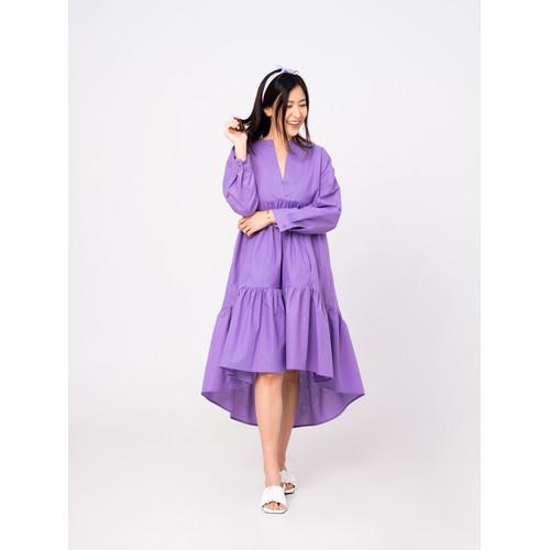 Foto Produk Leony Dress Lilac Breeze - IOLA COLLECTION - SM dari Onycha