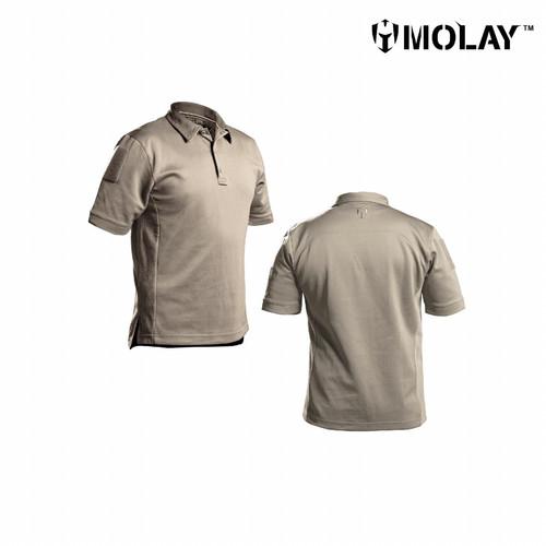 Foto Produk Kaos Polo Molay™ Dexterous Performance Shirt - COYOTE TAN, S dari Molay