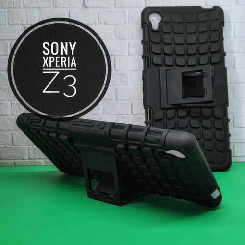 Foto Produk Case Sony Xperia Z3 mode Rugged Armor and Stand Hard Case Sony Z3 big dari AZ Store 91