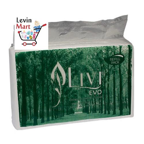 Foto Produk Tissue Wajah / Tissue LIVI Evo Premium Facial Refill 770's dari Levin Mart Sunter
