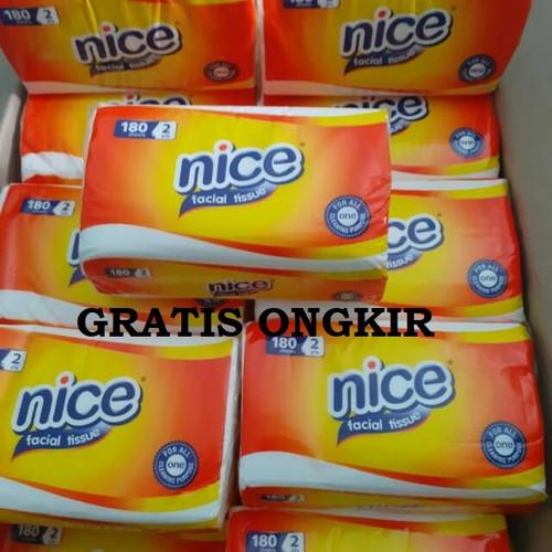 Foto Produk Obral Tissue Nice 180 sheets 2ply dari gudanggrosiran