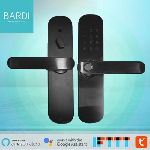 Foto Produk Bardi Smart Door Lock Handle RFID- Fingerprint Waterproof dari Bardi Smarthome Distributor