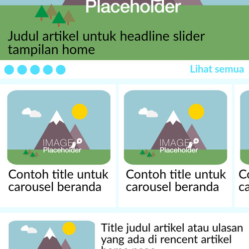 Foto Produk Sketsa UI Deisgn Newspaper, Multipurpose App dari Udropboxpedia