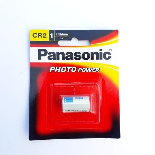 Foto Produk BATERAI PANASONIC CR2 CR 2 CR-2 CR15H270 3V CR2W ORIGINAL PHOTO POWER dari MKA Official Store