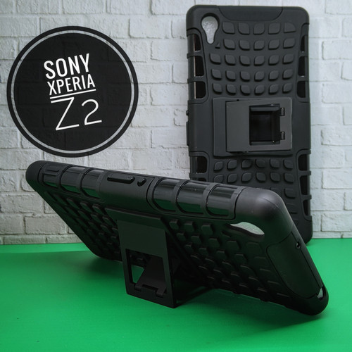 Foto Produk Case Sony Xperia Z2 mode Rugged Armor and Stand Hard Case Sony Z2 dari Ammar.cell