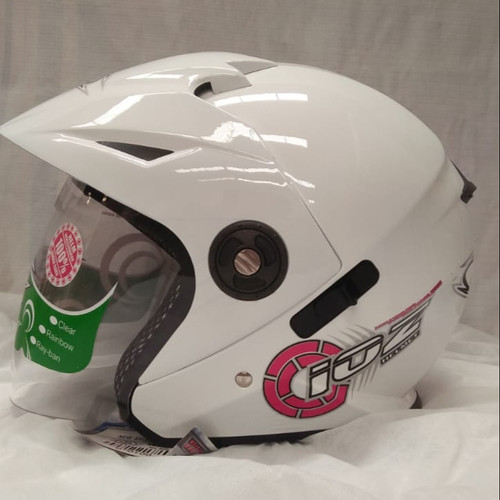Foto Produk Helm Half Face Ioz Aviator White L dari GudangHelm