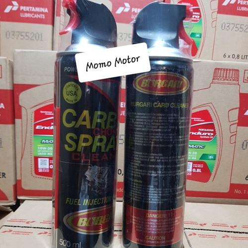 Foto Produk Carburator cleaner Burgari 500ml dari Momo Motor
