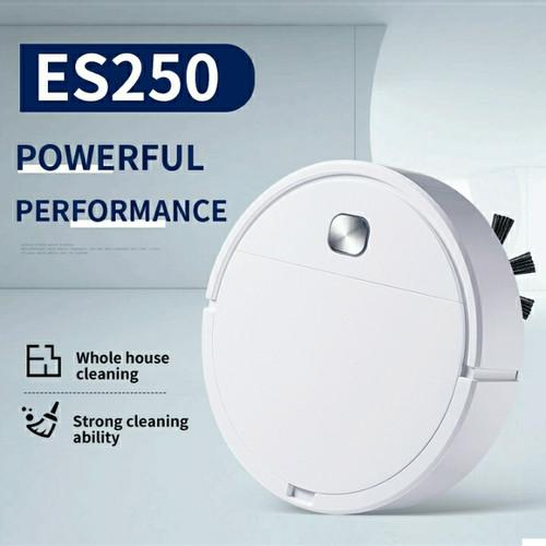 Foto Produk Robot Vacuum Cleaner ES28 Smart Vacuum Robot Pembersih Lantai - ES23Hitam dari GadgetGeekss