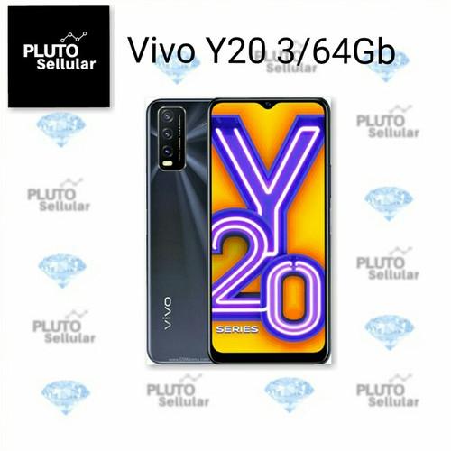 Foto Produk Vivo Y20 3/64Gb Garansi resmi Vivo - Putih dari Pluto sellular