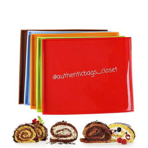 Foto Produk Loyang Silicone sheet bolu gulung roll cake swiss roll cetakan kue - Orange dari Authenticbags_closet
