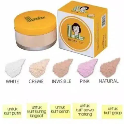 Foto Produk Bedak Tabur marcks active powder 20 gram - White, 20 Gram dari To Sehat Jakarta