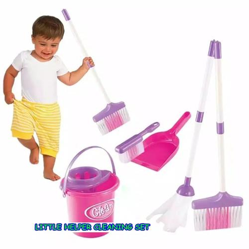 Foto Produk mainan edukasi anak/mainan cleaning set/mainan sapu-sapuan dari kelly and cheyla