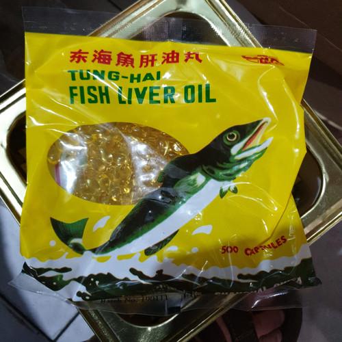 Foto Produk Minyak Ikan Tung Hai Fish Liver Oil isi 500 Kapsul Tunghai dari MULTI KARYA GROSIR