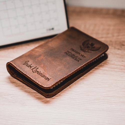Foto Produk Dompet Passport Kulit - Paul Passport Holder Tan v1 *FREE GRAFIR* dari PAUL official