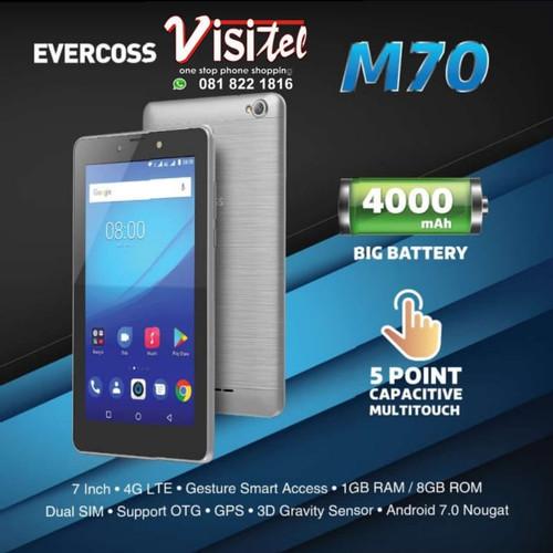 Foto Produk EVERCOSS M70 RAM 1GB ROM 8GB dari VISITEL MONJALI
