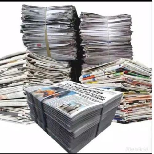 Foto Produk Koran packing / koran bekas / koran kiloan buat packing dan bungkus dari RIJUDATOYS